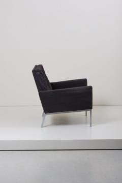 Florence Knoll Classic Pair of Lounge Chairs by Florence Knoll in Original Condition - 991520