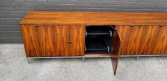 Florence Knoll Custom Bookmatched Brazilian Rosewood Florence Knoll Media Cabinet - 1051046