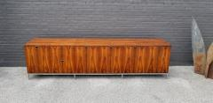 Florence Knoll Custom Bookmatched Brazilian Rosewood Florence Knoll Media Cabinet - 1051054