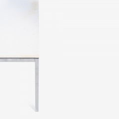 Florence Knoll Florence Knoll Coffee Side Tables in White Marble Pair - 1746957