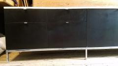 Florence Knoll Florence Knoll Credenza Sideboard with a Calacatta Marble on Ebonized Oak 1961 - 1145622