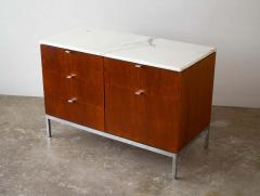 Florence Knoll Florence Knoll Credenza in Teak and Marble - 1765366