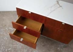 Florence Knoll Florence Knoll Credenza in Teak and Marble - 1765369