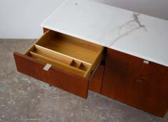 Florence Knoll Florence Knoll Credenza in Teak and Marble - 1765370