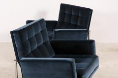 Florence Knoll Florence Knoll Pair of Parallel Bar Lounge Chairs circa 1965 - 1248141