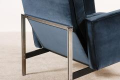 Florence Knoll Florence Knoll Pair of Parallel Bar Lounge Chairs circa 1965 - 1248143