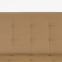 Florence Knoll Florence Knoll Sofa in Camel Wool Flannel - 443633