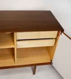 Florence Knoll Florence Knoll Walnut Cabinet with Maple Interior Model No 541 Germany 1950s - 2083249