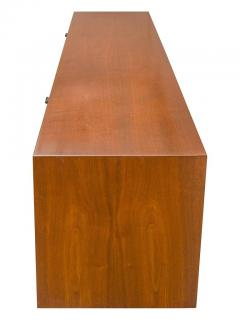 Florence Knoll Florence Knoll Walnut Wall Mounted Drop Front Cabinet for Knoll USA 1950s - 667006