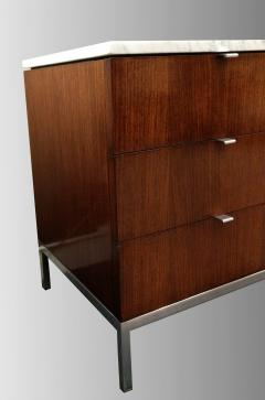 Florence Knoll Florence Knoll credenza in rosewood with Calacatta marble top 1964  - 1489739