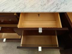 Florence Knoll Florence Knoll credenza in rosewood with Calacatta marble top 1964  - 1489742