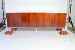 Florence Knoll Florence Knoll for Knoll International Marble Top Rosewood 4 Door Credenza - 1408291