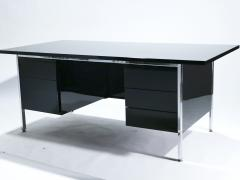 Florence Knoll Florence Knoll lacquer and chrome desk 1950 s - 985601