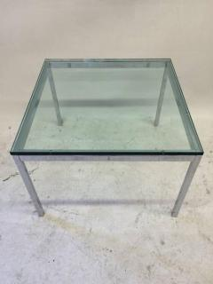 florence knoll - glass top florence knoll side table