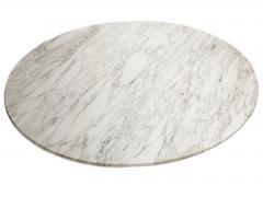Florence Knoll Large ovale dining table in Callacatta marble by Florence Knoll circa 1965 - 1211318