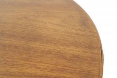 Florence Knoll Mid Century American Teak Oval Dining Table - 726398