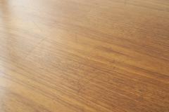 Florence Knoll Mid Century American Teak Oval Dining Table - 726399