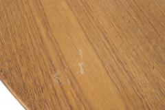 Florence Knoll Mid Century American Teak Oval Dining Table - 726403