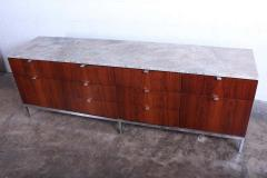 Florence Knoll Rosewood Credenza by Florence Knoll - 1301217
