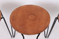 Florence Knoll Set of Three Florence Knoll Original Model 75 Stacking Stools - 1572030