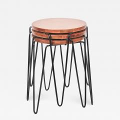 Florence Knoll Set of Three Florence Knoll Original Model 75 Stacking Stools - 1573770