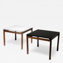 Florence Knoll Set of Two Side Tables by Florence Knoll for Knoll - 2138924