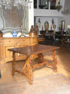 Florentine Walnut Trestle Table - 969622