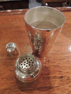 Fluted Art Deco Cocktail Shaker - 1343358