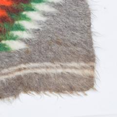 Folk Art Native American Wool Blanket Wall Art Bold Graphics Vivid Color - 1893299