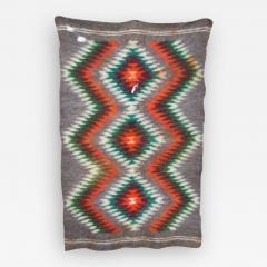 Folk Art Native American Wool Blanket Wall Art Bold Graphics Vivid Color - 1894613