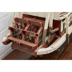 Folk Art Paddle Boat Arthur of Paducah KY - 1752618