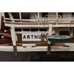 Folk Art Paddle Boat Arthur of Paducah KY - 1752619