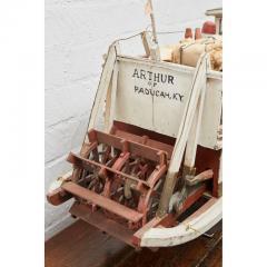 Folk Art Paddle Boat Arthur of Paducah KY - 1752623