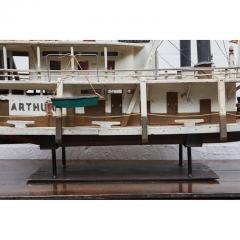Folk Art Paddle Boat Arthur of Paducah KY - 1752625