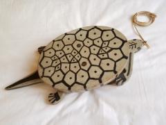 Folk Art Turtle Childs Toy American 1930s - 435646