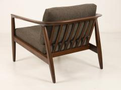 Folke Ohlsson Curvaceous Pair of Scandinavian Modern Armchairs Designed by Folke Ohlsson - 2018015