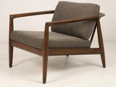 Folke Ohlsson Curvaceous Pair of Scandinavian Modern Armchairs Designed by Folke Ohlsson - 2018018