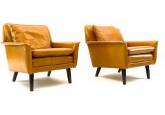Folke Ohlsson Folke Ohlsson for Fritz Hansen Comfortable Pair of Lounge Chairs - 1546285