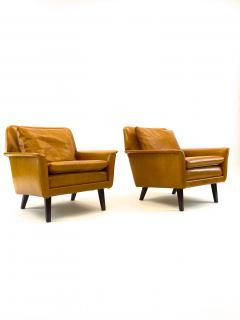 Folke Ohlsson Folke Ohlsson for Fritz Hansen Comfortable Pair of Lounge Chairs - 1546286