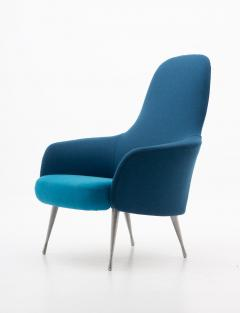 Folke Ohlsson Scandinavian Midcentury Lounge Chairs by Alf Svensson for DUX 1960s - 1619791