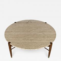 Folke Ohlsson Travertine Coffee Table by Folke Ohlsson for DUX Sweden - 1096741