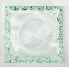 Fontana Arte 1940s Italian glass ashtray - 1233748