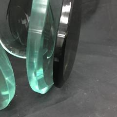 Fontana Arte Fontana Arte Mid Century Modern Steel and Glass Pendant - 706194