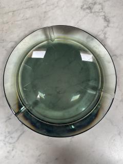 Fontana Arte Fontana Arte Pocket Ashtray Curved Crystal 1960 Italy - 2074695