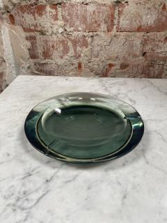 Fontana Arte Fontana Arte Pocket Ashtray Curved Crystal 1960 Italy - 2074696