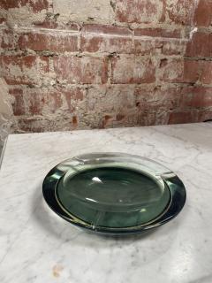 Fontana Arte Fontana Arte Pocket Ashtray Curved Crystal 1960 Italy - 2074698