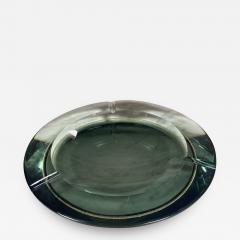 Fontana Arte Fontana Arte Pocket Ashtray Curved Crystal 1960 Italy - 2075764