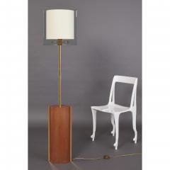 Fontana Arte Fontana Arte Polished Brass Floor Lamp Italy 1990 - 2063118