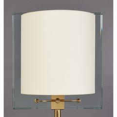Fontana Arte Fontana Arte Polished Brass Floor Lamp Italy 1990 - 2063121