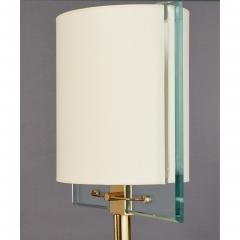 Fontana Arte Fontana Arte Polished Brass Floor Lamp Italy 1990 - 2063122